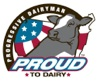 Proud to Dairy Logo