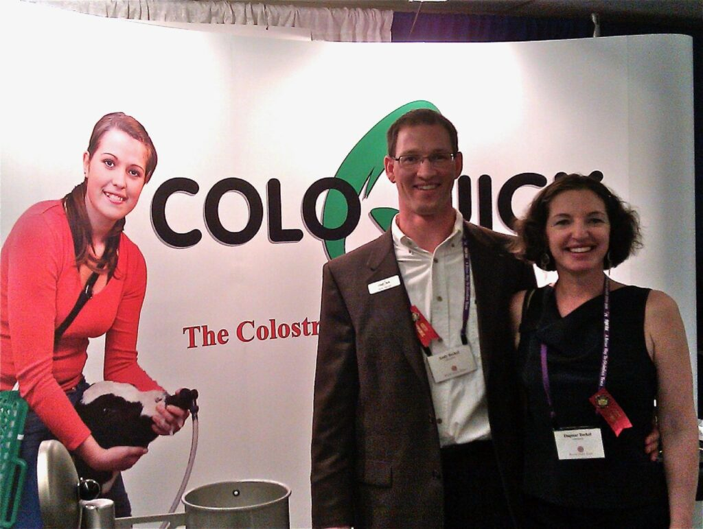 Golden Calf Company introduces ColoQuick colostrum thawing and colostrum pasteurizing at world dairy expo 2010