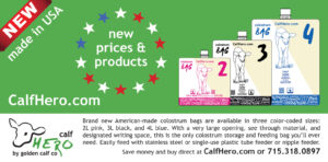 New Colostrum Bags from Golden Calf Company