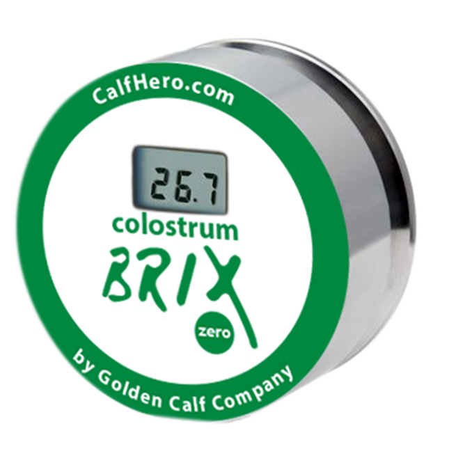 Colostrum Tester Brix tests colostrum quality in your pipeline Calf Hero™ brand by Golden Calf Company